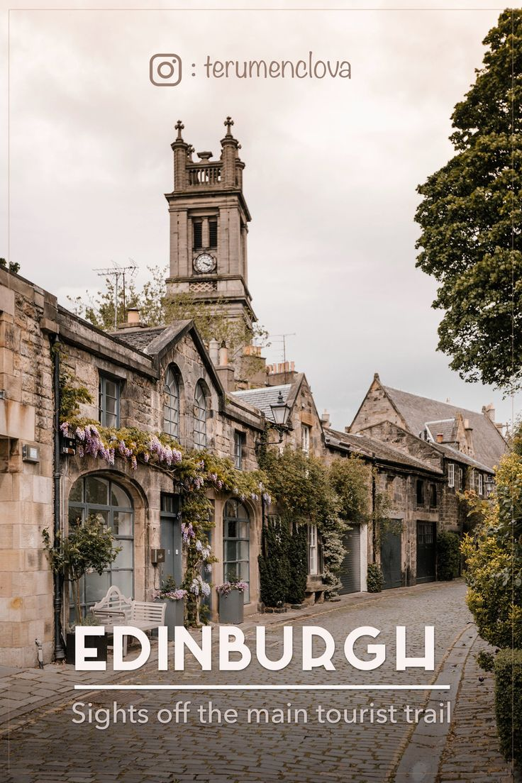 Travel guide for Edinburgh: sights off the main tourist trail