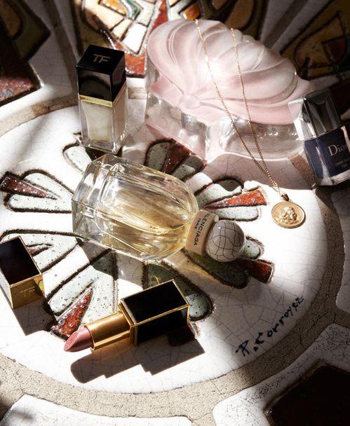 Interview beaute Dans la salle de bain de Jeanne Damas