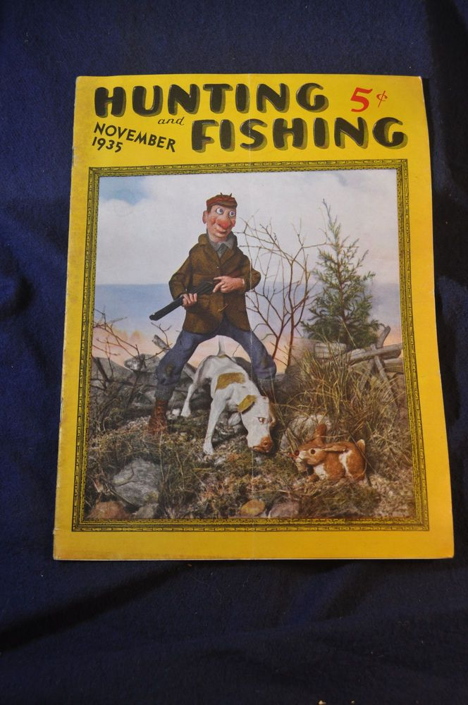 17 Best Images About Vintage Hunting And Fishing Magazine