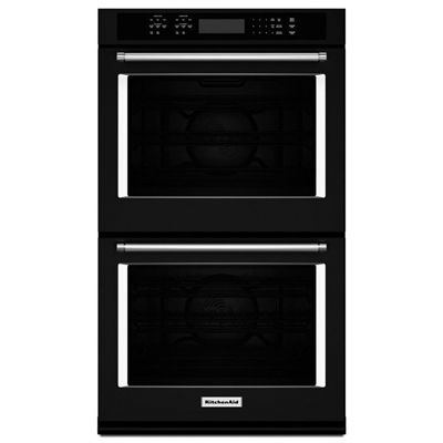 Kitchenaid Wall Oven Kode507ebl 27 In 4 3 4 3 Cubic Ft