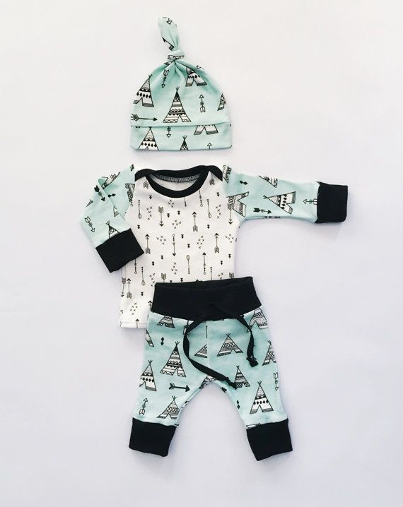 coming home outfit baby baby boy baby girl by LittleBeansBabyShop