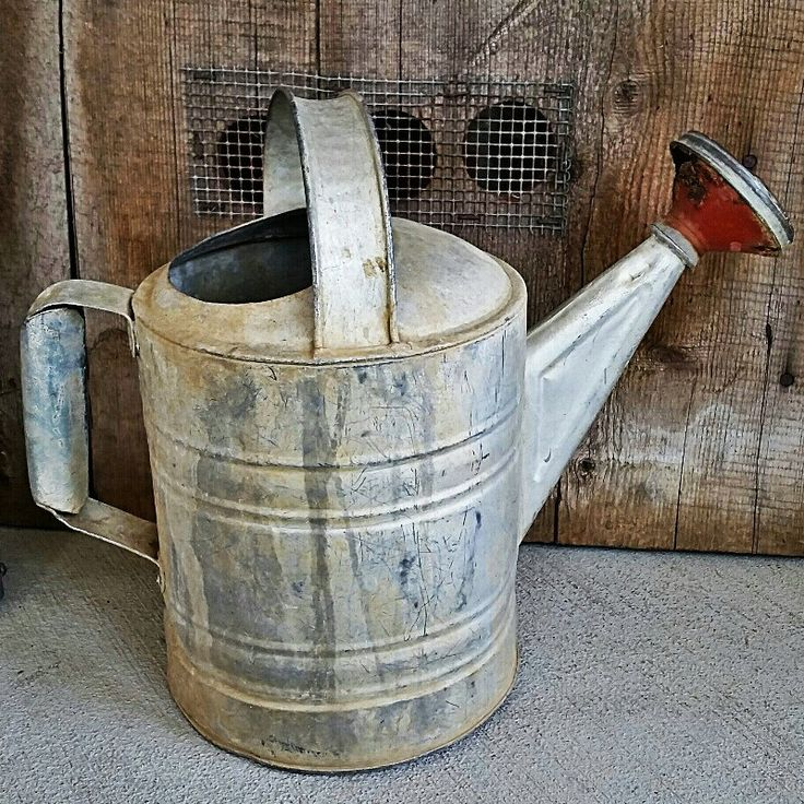 Rustic Watering Can from LoveTheJunk.