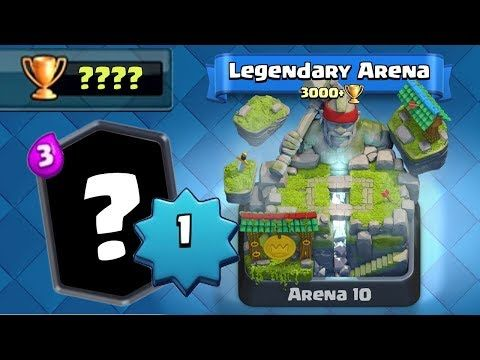 Level 1 account unlocks the most powerful card and pushes to a new trophy record in Arena 10 Clash Royale. Royal Ghost OP BROKE MY CAMERA:  Follow me on Twitter: Tweets by CamaroBroGaming Follow me on Instagram: https://www.instagram.com/christopherryan98/?hl=en This content is not affiliated...
