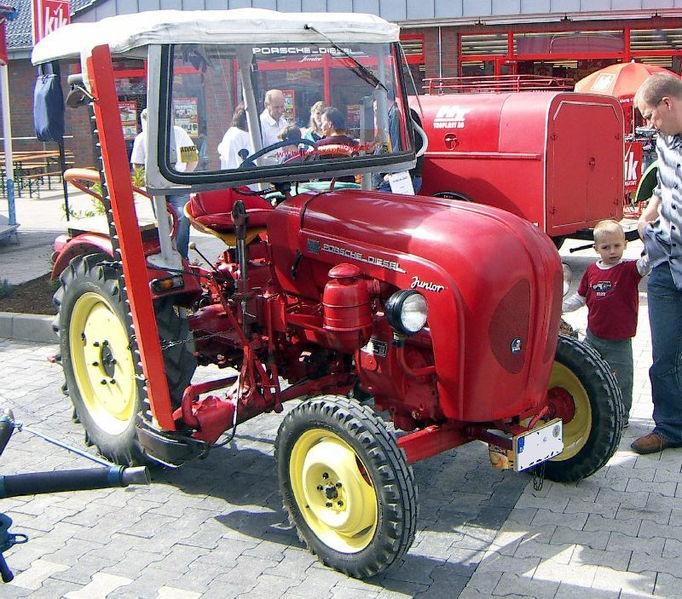 #Traktor, tractor/ Einen #Porsche will ich auch...  www.ericclassen.de