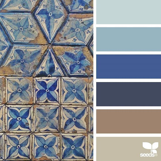 today's inspiration image for { tiled tones } is by @auntieclaras ... thank you, Clara, for another incredible #SeedsColor image share!
