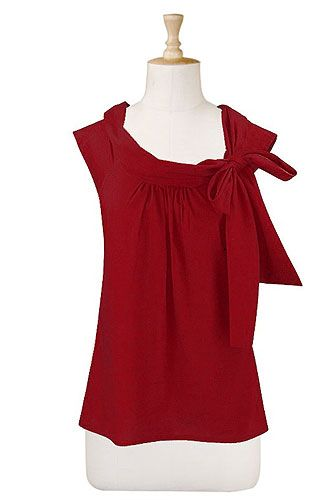 Cute little topCustom Size, Ties Neck, Eshakti Com, Fashion Dresses, Bows Ties, Bow Ties, Bows Blouses, Neck Tops, Red Bows