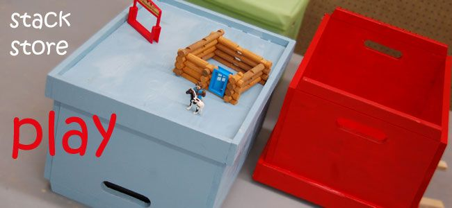Ana White | Build a Stacking Toy Boxes | Free and Easy DIY Project and Furniture Plans