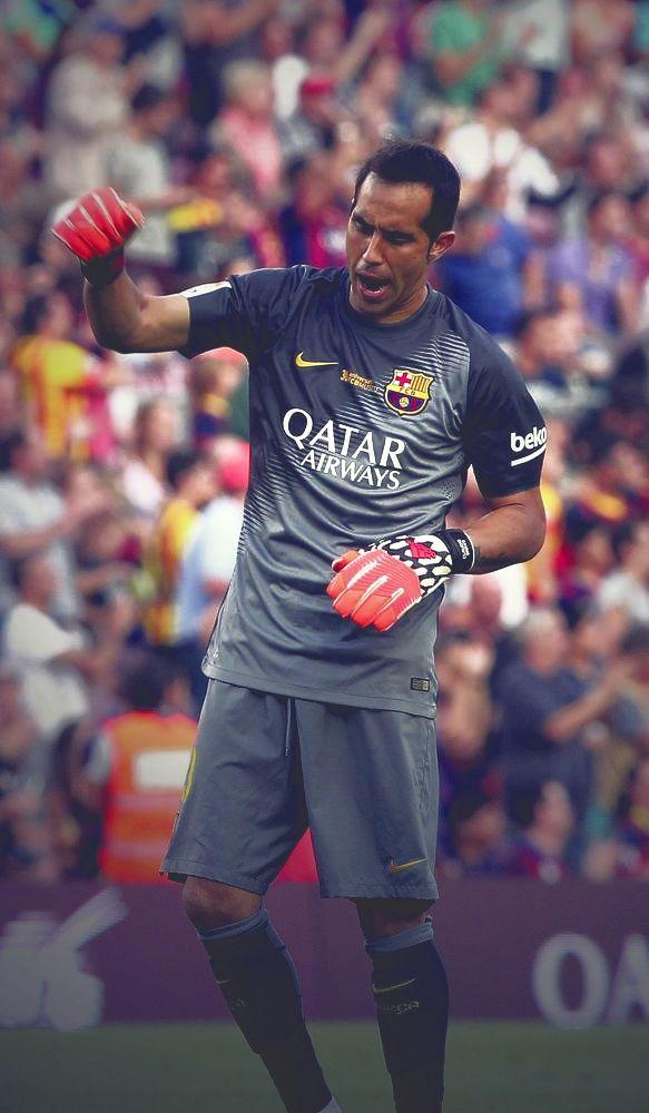 Claudio Bravo. FC Barcelona.