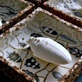 "Elisa Confortini Collection ""entomologica"" Italian ceramic artist"