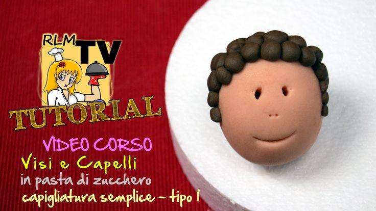 #VIDEO #CORSO: #Visi e #capelli in #pdz - Capigliatura semplice - tipo 1