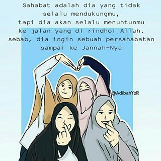 Koleksi kartun muslimah - 12 (kata mutiara Sahabat ...