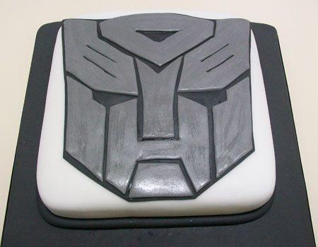 Torta Transformers. Paso a Paso, con fotos