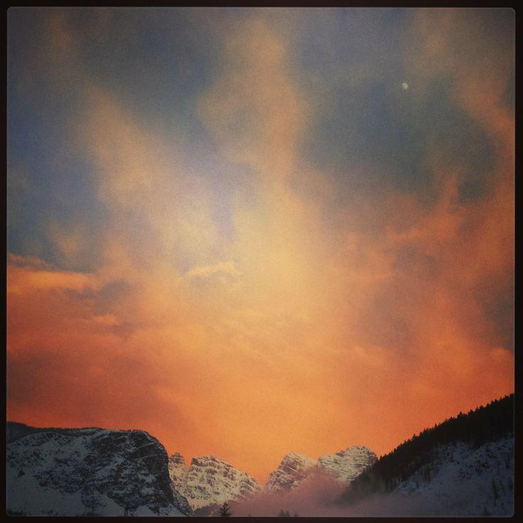 Sunseto on #Dolomiti