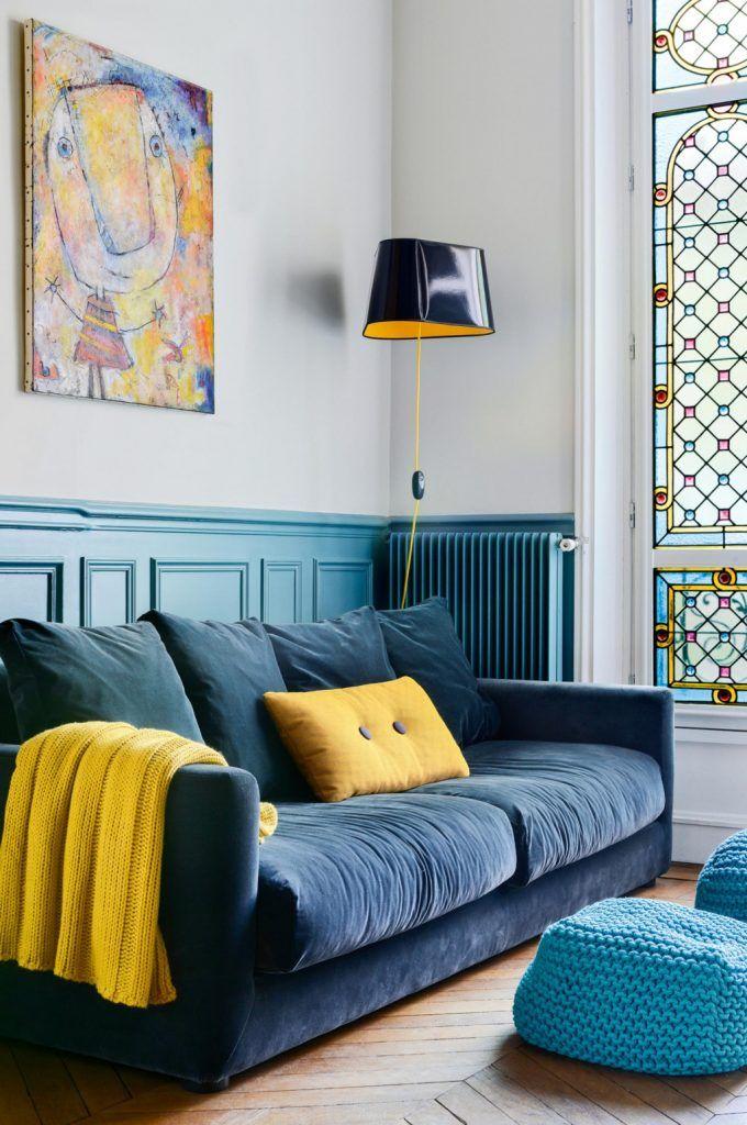 Parijs appartement inspiratie: kleurrijk - Makeover.nl