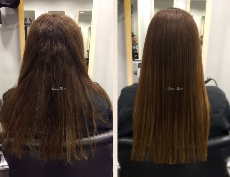 Before & After Brazilian blow dry last up to 12 weeks #brazillianblowdry #frizzfree #smoothhair #nanokeratin #professionalblowdry #hairdressers #hairideas #nomorefrizz #beautifulhair