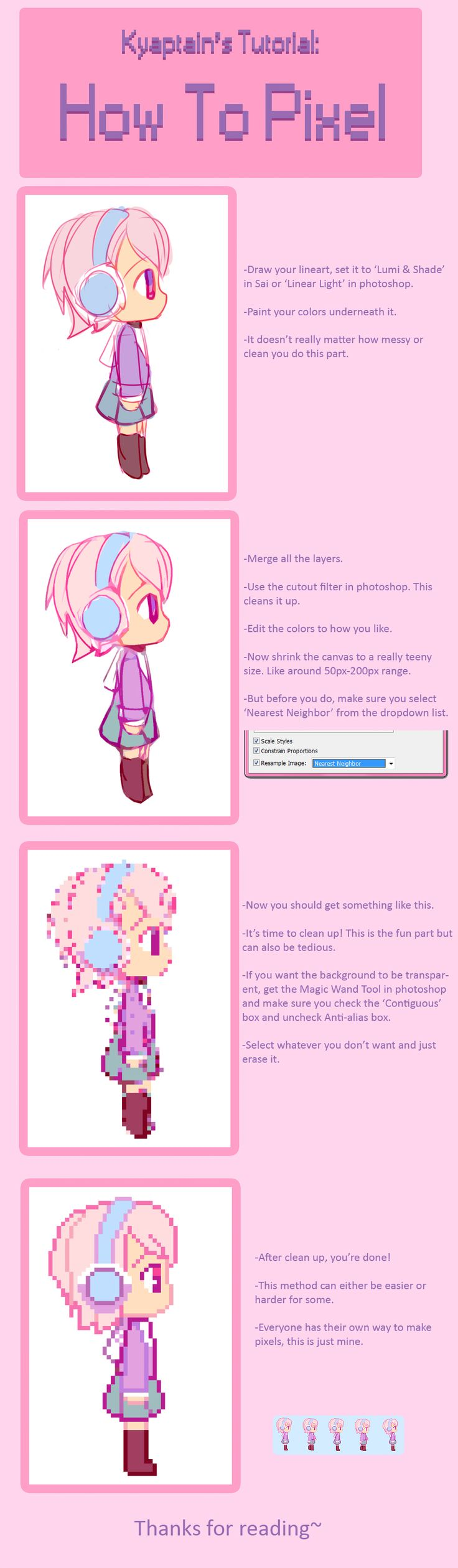 How To Pixel By Captainstrawberryiantart On @deviantart