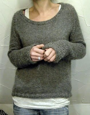perfect knitted sweater - have I already pinned this?.