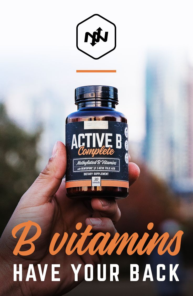 When a pro athlete needs to play a game under the weather or severely jet lagged, there is a standard protocol: a shot of B12 vitamin right in the butt cheek. B vitamins are involved in everything from the conversion of nutrients into neurotransmitters like serotonin to proper mitochondrial function. You can feel it when you take a good B vitamin like Active B Complete— there's no question that it's working.