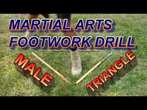 Forward Triangle or Male Triangle - Kali Footwork - Black Belt Wiki
