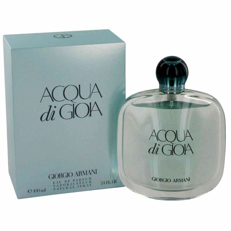 Amazon.com : Giorgio Armani Acqua Di Gioa Eau de Parfum Spray, 3.4 Ounce : Aqua De Gio : Beauty
