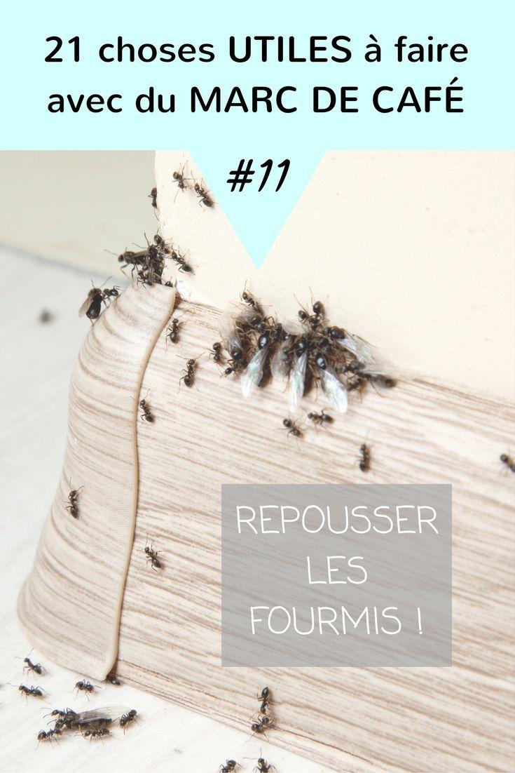 saupoudrer du marc de caf pour repousser les fourmis. Black Bedroom Furniture Sets. Home Design Ideas