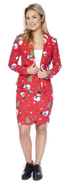 OPPOSUITS OppoSuits Womens Christmas Suit Christmiss