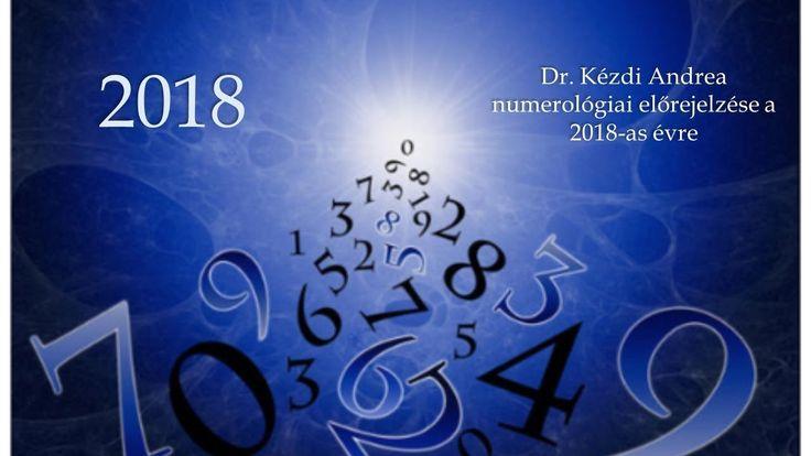 dr. Kézdi Andrea - Előrejelzés 2018