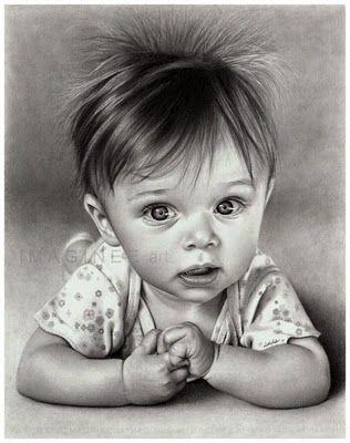 Realistic pencil drawing art - ♥