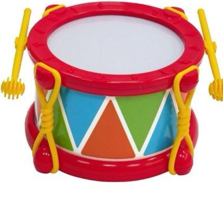 NEW BABY TODDLER MUSICAL INSTRUMENTS - FUN RETRO TOY DRUM INSTRUMENT gift in…