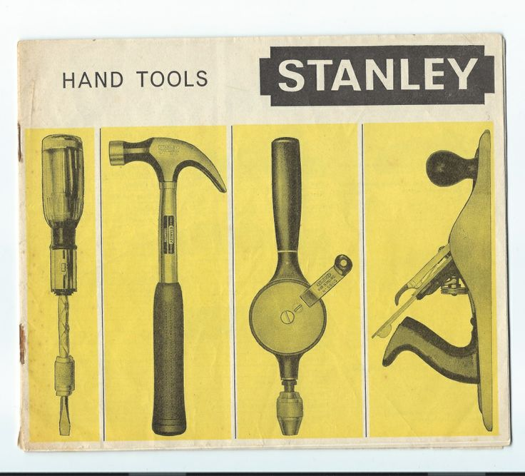 stanley tool dating