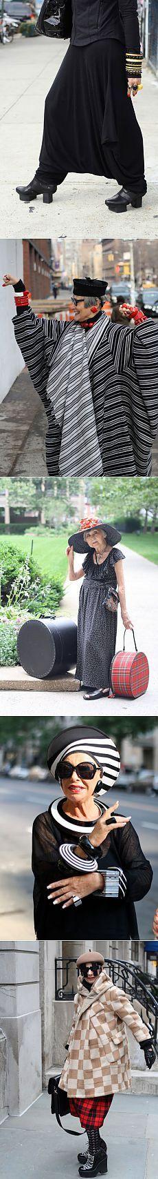 Бабушки-старушки часть 5 (трафик) / Street Style /