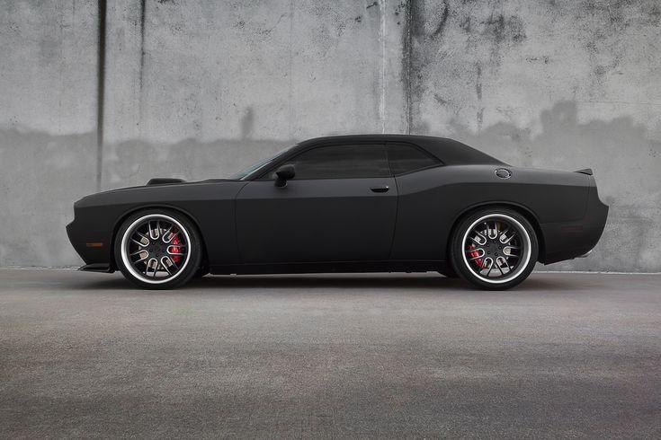 2012 Matte Black Challenger SRT-8 392