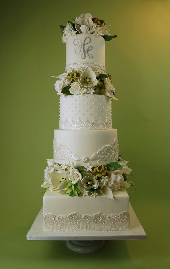 wedding cakes northern new jersey%0A New York Wedding Films likes  Wedding HC Cake with Sugar paste Lace and  Handmade Sugar