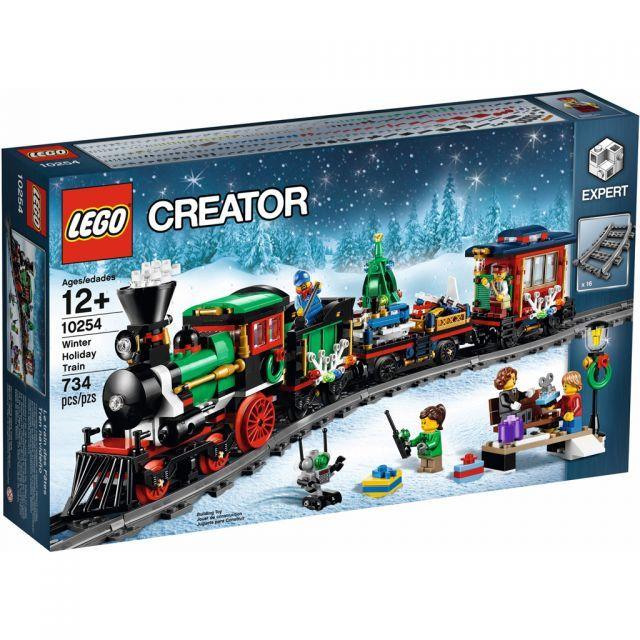 Đồ chơi LEGO Winter Village 10254 Winter Holiday Train -  Chuyến tàu Giáng sinh