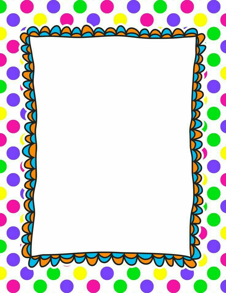 backgrounds clip art frames my cute graphics - 736×952