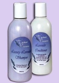 Lavender Hair care pack all natural ingredients with pure lavender essential oil just so good for your hair.