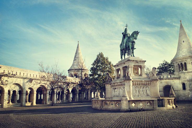 Statua - St. Stephen, Budimpesta