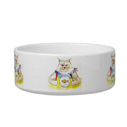 Treat Yourself Kitty Bowl - cat cats kitten kitty pet love pussy