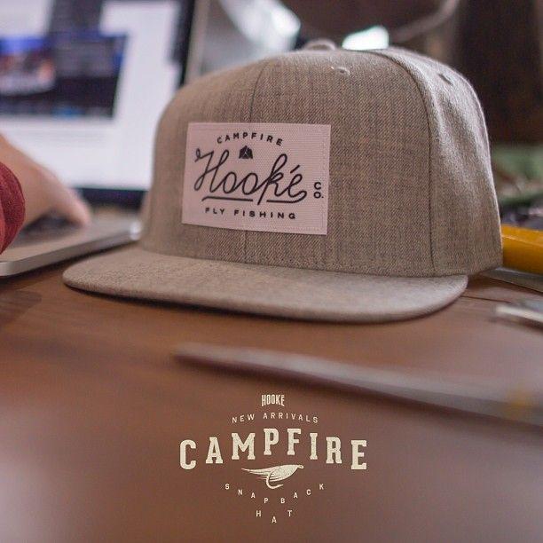 Photo taken by hook flat bill hat typography fly for Fishing flat bill hats