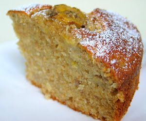 Oven baked banana cake.Very easy cake recipe cooked in halogen oven.