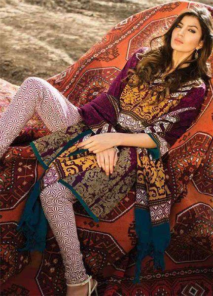 Sana Safinaz winter Dresses & shawl Collection 2016