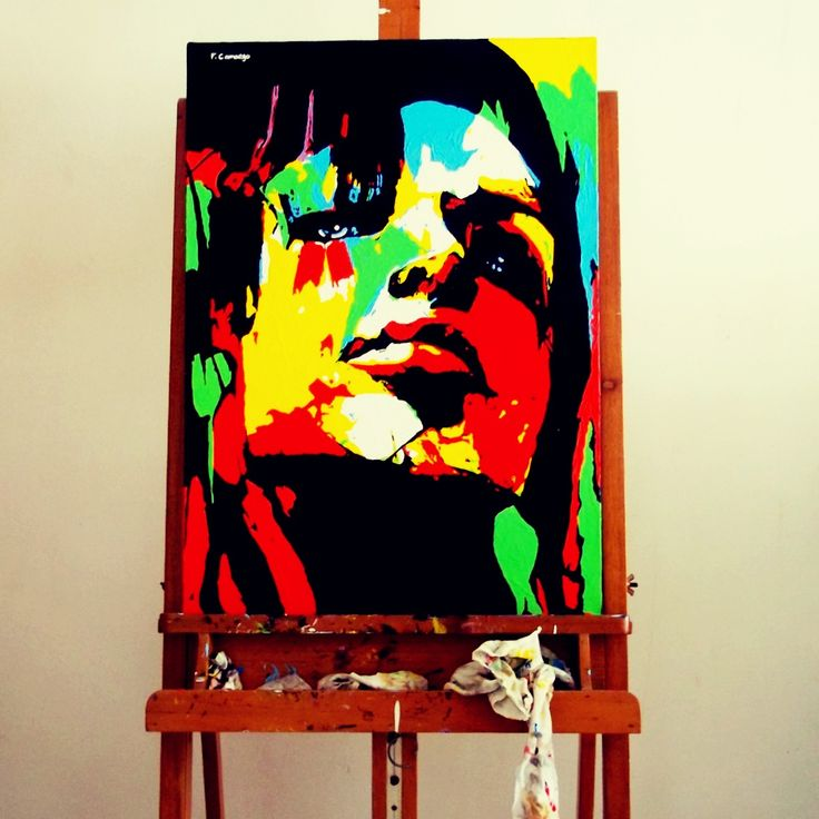 Acrylic on canvas 70x50 cm