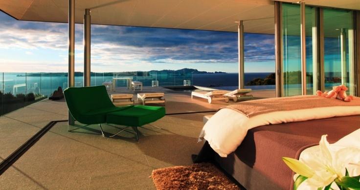 The Green Room - Rahimoana Villa, Eagles nest, New Zealand