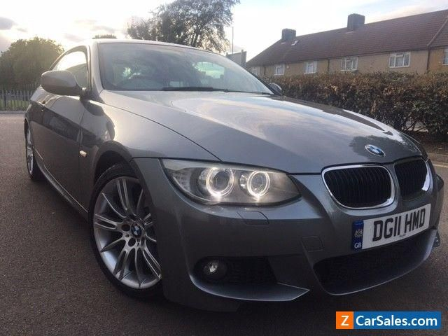 2011 BMW 320d M Sport Coupe Automatic Red Leather #bmw #coupe #forsale #unitedkingdom
