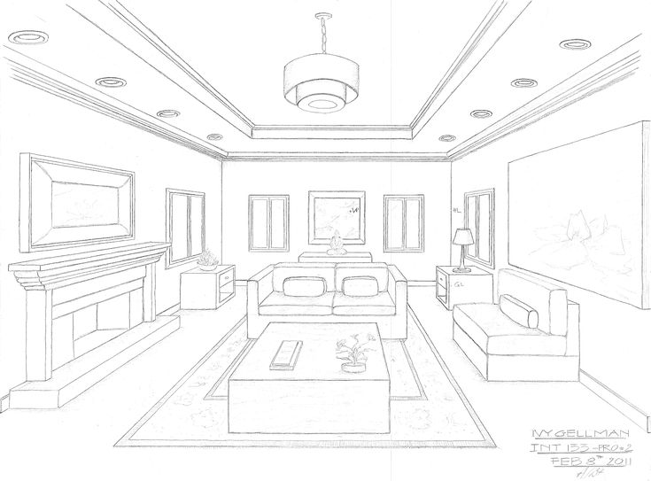 10 Best Images About One Point Perspective Room On Pinterest Perspective Drawing Hands And