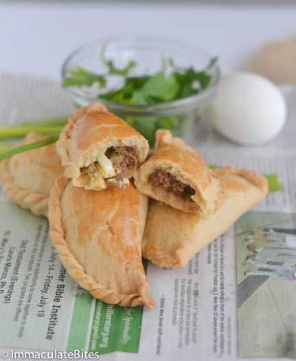 Lacy - African Meat Pies, great with chutney, a delicious south African food