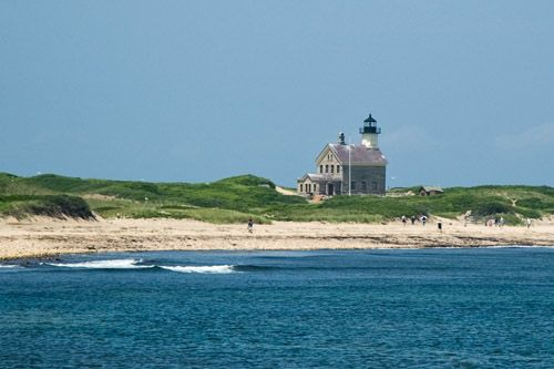 One of the lighthouses on Block Island