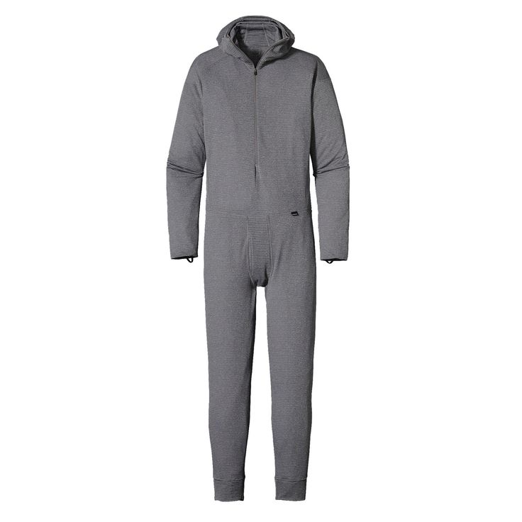 Patagonia Men's Capilene® 4 Expedition Weight One Piece Suit - Stay warm and dry in cool-to-cold conditions in our warmest and most breathable baselayer.
