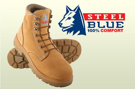 steel blue work boots - Google Search