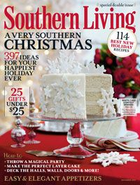 Southern Living Magazine December Issue -  lots of good decorating ideas and yummy recipes